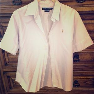 Polo Ralph Lauren short sleeve button up shirt